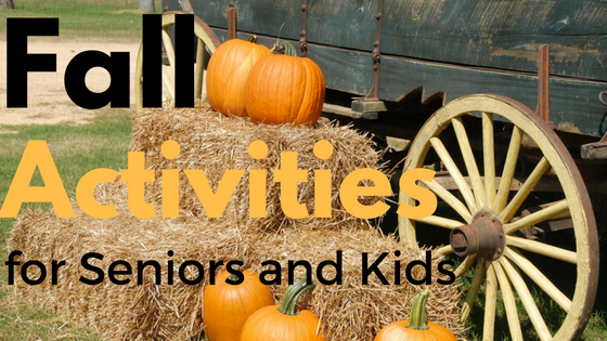 fall activities for seniors and kids